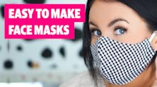 Three easy to make face mask designs that won't break the bank