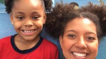 Teacher changes her hairstyle to help bullied girl in class