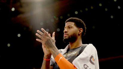 George leads Thunder romp, NBA-best Bucks blast Mavs