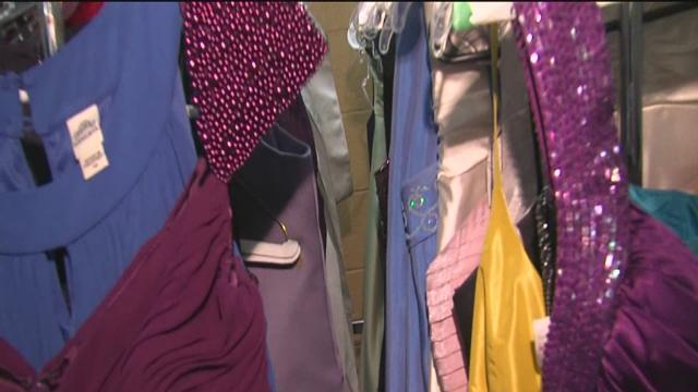 First Baptist Church of Tulsa's Clothing Closet helping girls attend prom