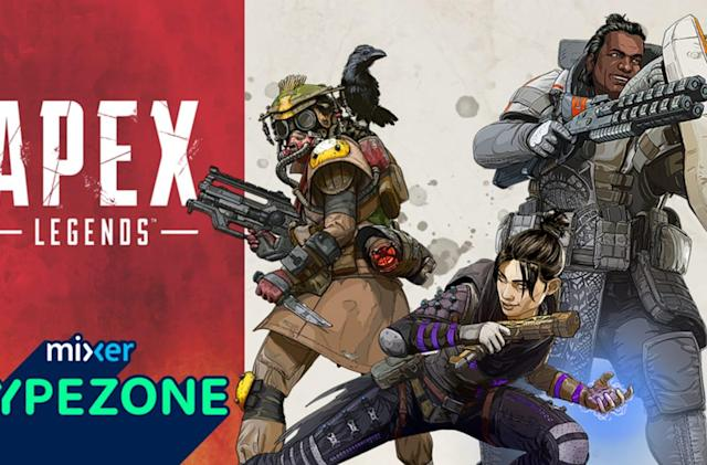 Mixer highlights the top 'Apex Legends' streamers with new leaderboards