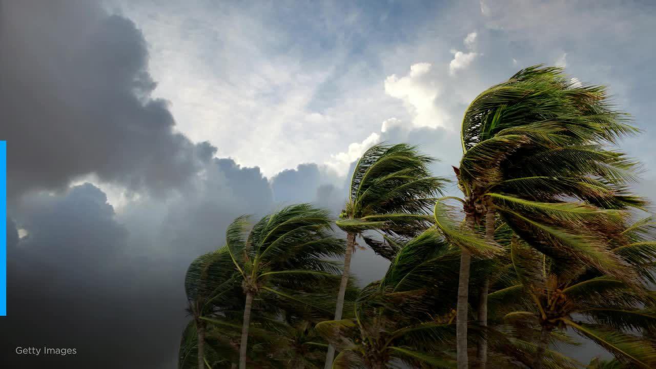 Record 27th named Atlantic storm bears down on Gulf Coast