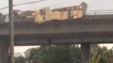 Possible Tornado Scatters Debris Across Gatineau Road