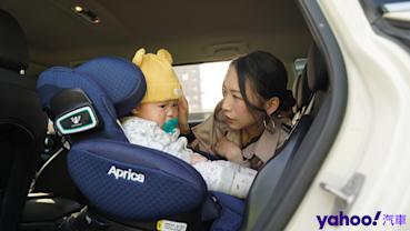 【開箱圖輯】新手爸媽輕鬆上手!育嬰神器Aprica Fladea Grow ISOFIX Premium平躺型安全座椅激推開箱!