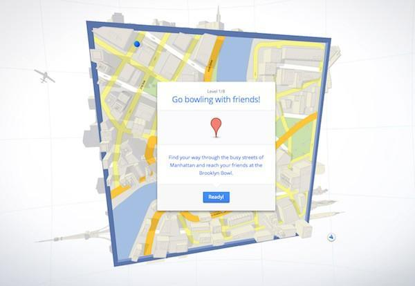 Google Maps 'Cube' game rolls out, back, up, back again