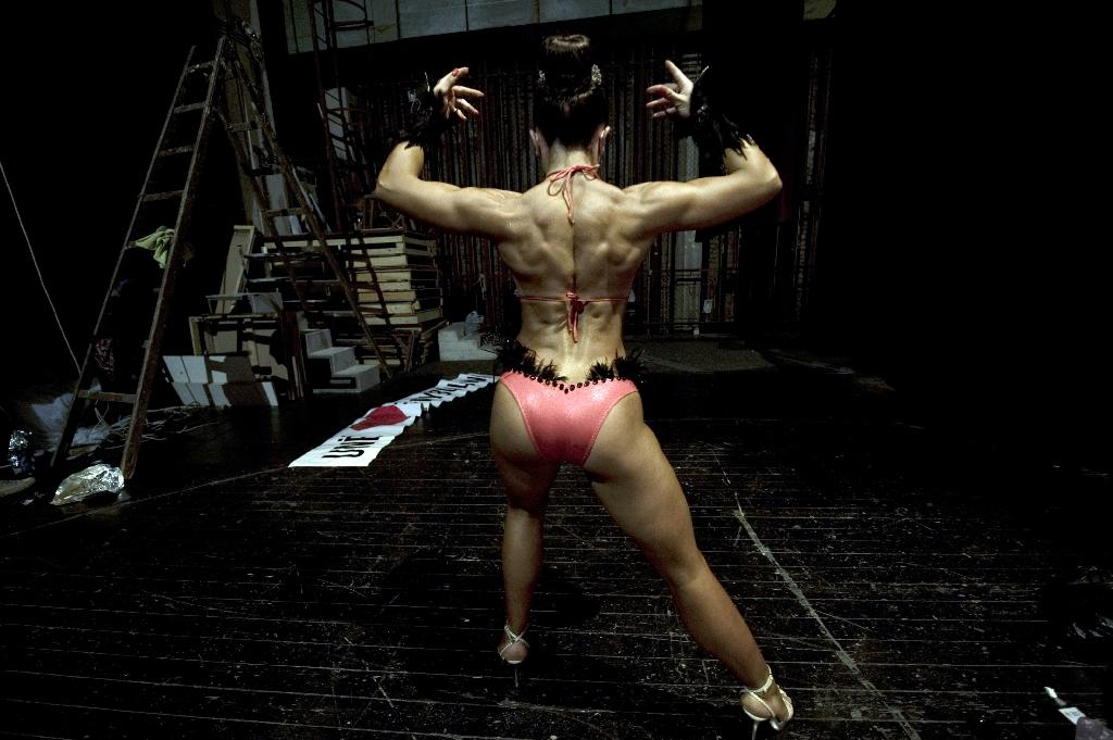 Bodybuilding is a popular sport across Eastern Europe and the Middle East
