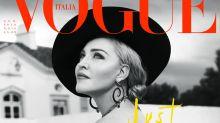 ¿Madonna como mamá fútbol?