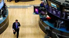 Global stocks little changed, pound hits six-week high