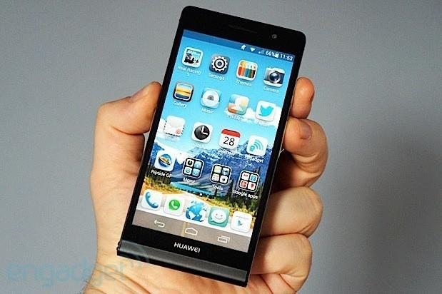 Huawei Ascend P6 hands-on (video)