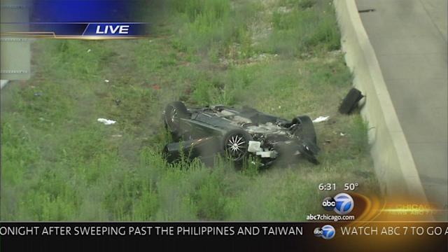 Deadly highway accident along NB I-57, all lanes reopened