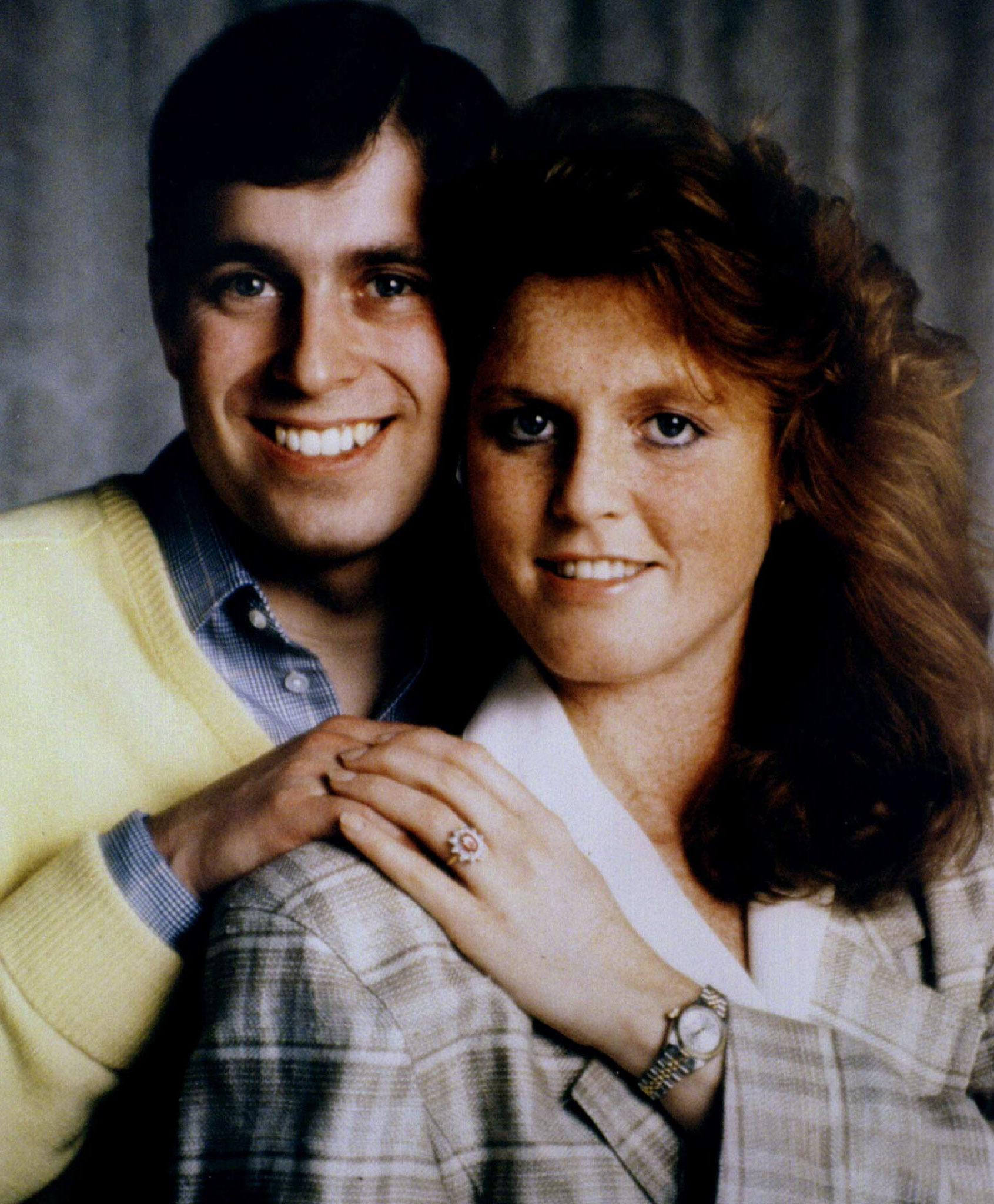 - FILE PHOTO JUNE 1986 - The solicitors of Britain's Duke and Duchess of York, pictured before their 1986 wedding, announced April 16 the couple are to divorce. [The marriage between Queen Elizabeth II's second son Andrew and Sarah Ferguson is likely to be over by May said the statement from the solicitors of both.]