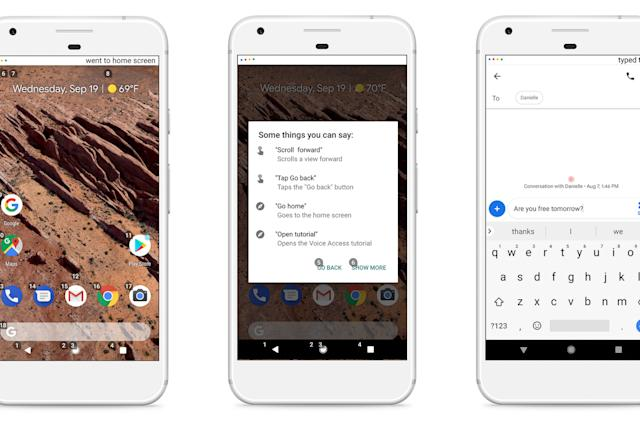 Google's Voice Access gives Android users hands-free control