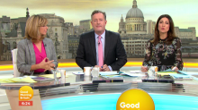 Viewers mock Piers Morgan for moaning about lack of sleep on 'GMB'