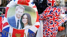 Los británicos se preparan para la boda del príncipe Harry y Meghan Markle