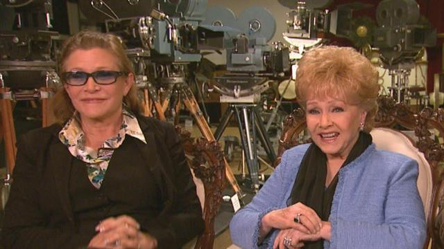 Can Carrie Fisher & Debbie Reynolds Keep Mum About New 'Star Wars'?