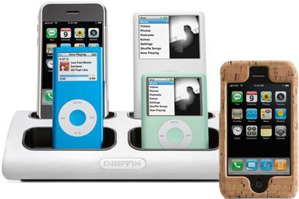 Griffin uncorks PowerDock and 2008 iPod accessory lineup