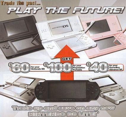 DS is the future, PSP is the past, says EB