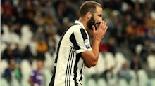'He needs to stay calm' - Allegri backs Higuain to rediscover scoring touch