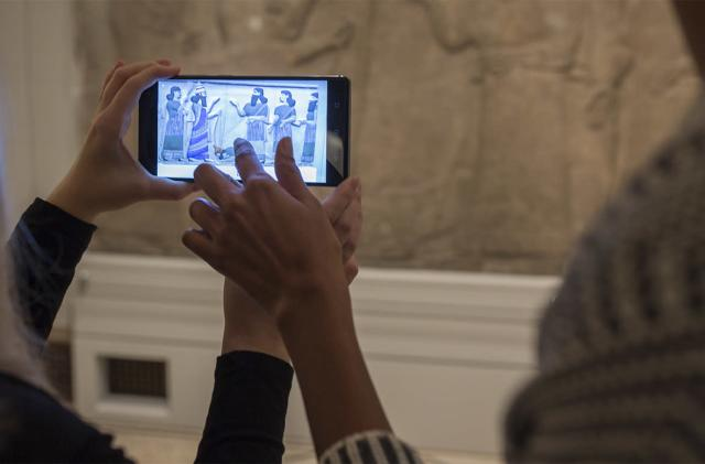 Google Tango AR takes you inside a mummy's sarcophagus