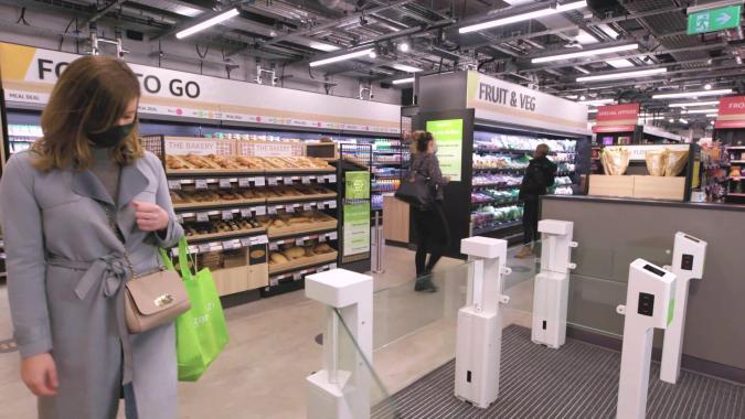 Amazon Fresh store in the UK