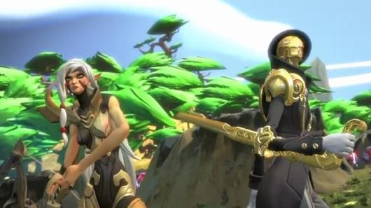 Battleborn melds the MOBA with a first-person perspective