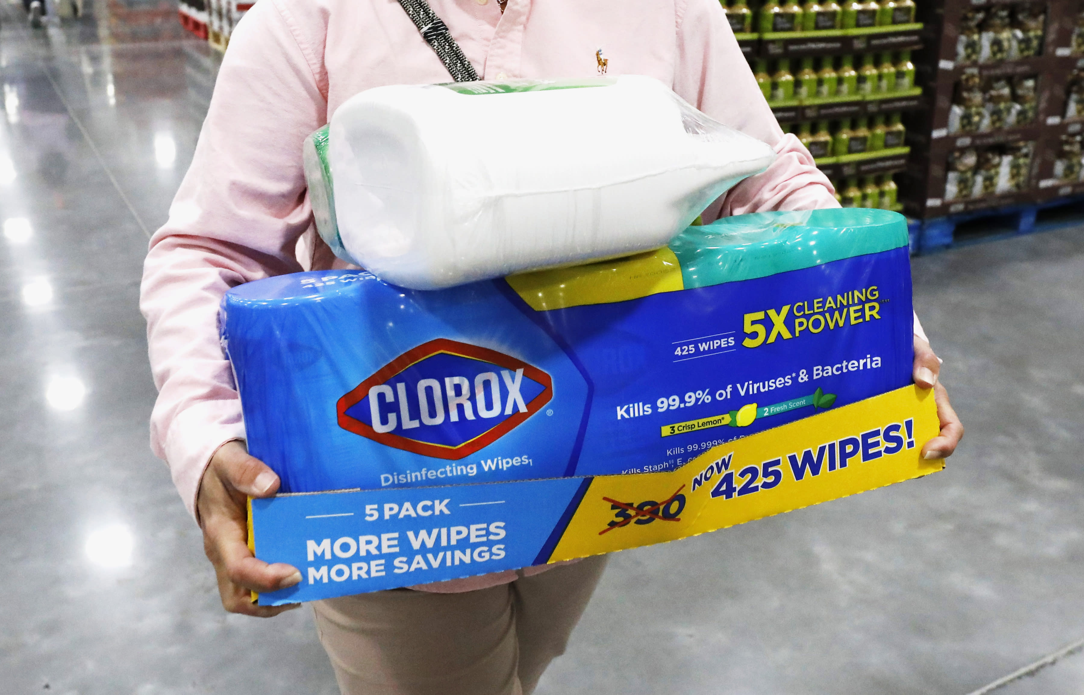 Poison control calls for cleansers, disinfectants up 20% during pandemic