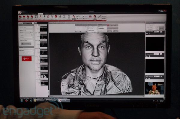 Visualized: 3D3 Solutions scans our face in two seconds flat
