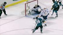 Ryan Miller robs Couture with toe save