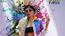 Pride: El look arcoiris de Lady Gaga en el Orgullo 2019