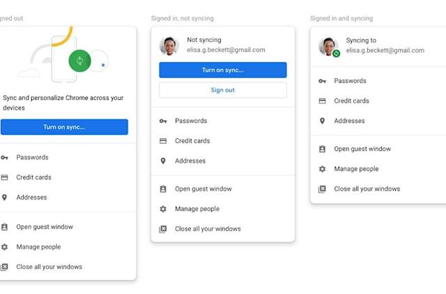 Chrome 70 will let users decline linking web, browser sign-in