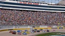 Fans not allowed at Las Vegas races