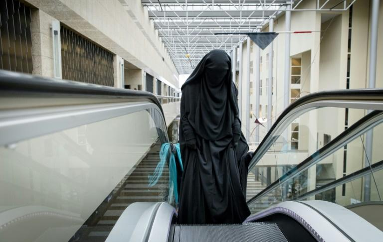The Dutch law does not ban the wearing of a burqa on the street, unlike France's ban which took effect in 2010. Belgium, Denmark and Austria have similar laws (AFP Photo/Bart Maat)