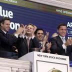Today's charts: Blue Apron climbs in IPO; Nike earnings on tap; Big bank stocks jump