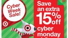 Target Reveals Cyber Week Savings