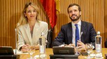 Casado blinda a Álvarez de Toledo a pesar de que ella no gusta a todo el PP