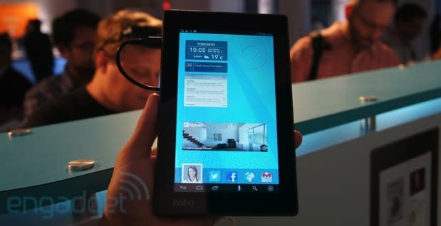 Kobo's Arc 7 tablet shows up in NYC, we kind of go hands-on