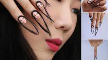 """Eine Illusionskünstlerin hat """"Haar-Nägel"""" kreiert – und das Internet findet das ziemlich ekelhaft"""