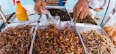 Fried insects (Getty)