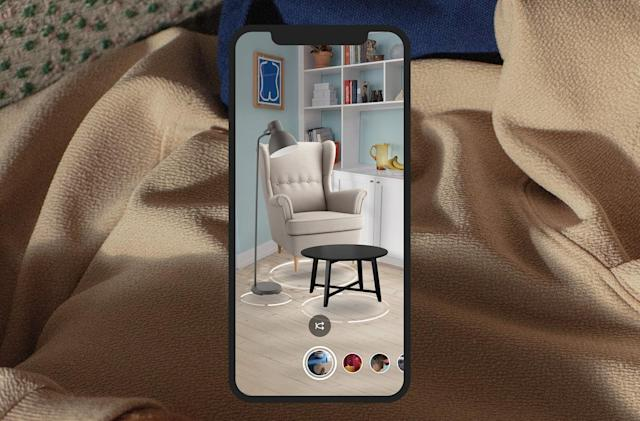 IKEA's AR furniture app now lets you preview an entire room