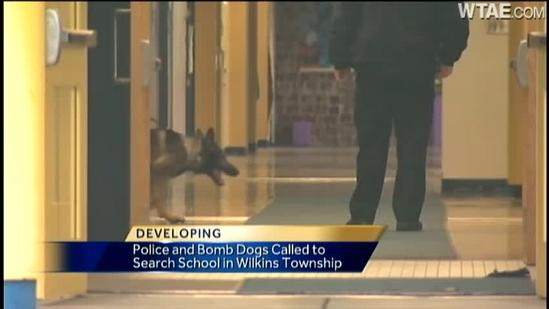 Bomb dogs called to Wilkins Elementary School