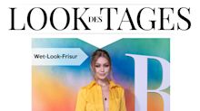 Look des Tages: Gigi Hadid in sonnengelbem Overall