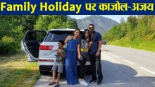 Kajol and Ajay Devgn enjoy holiday with daughter Nysa & son Yug; Check out
