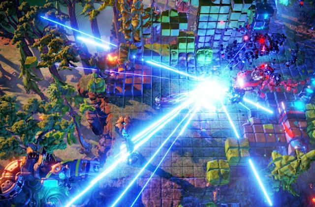 Arcade shooter 'Nex Machina' gets a physical release November 10th