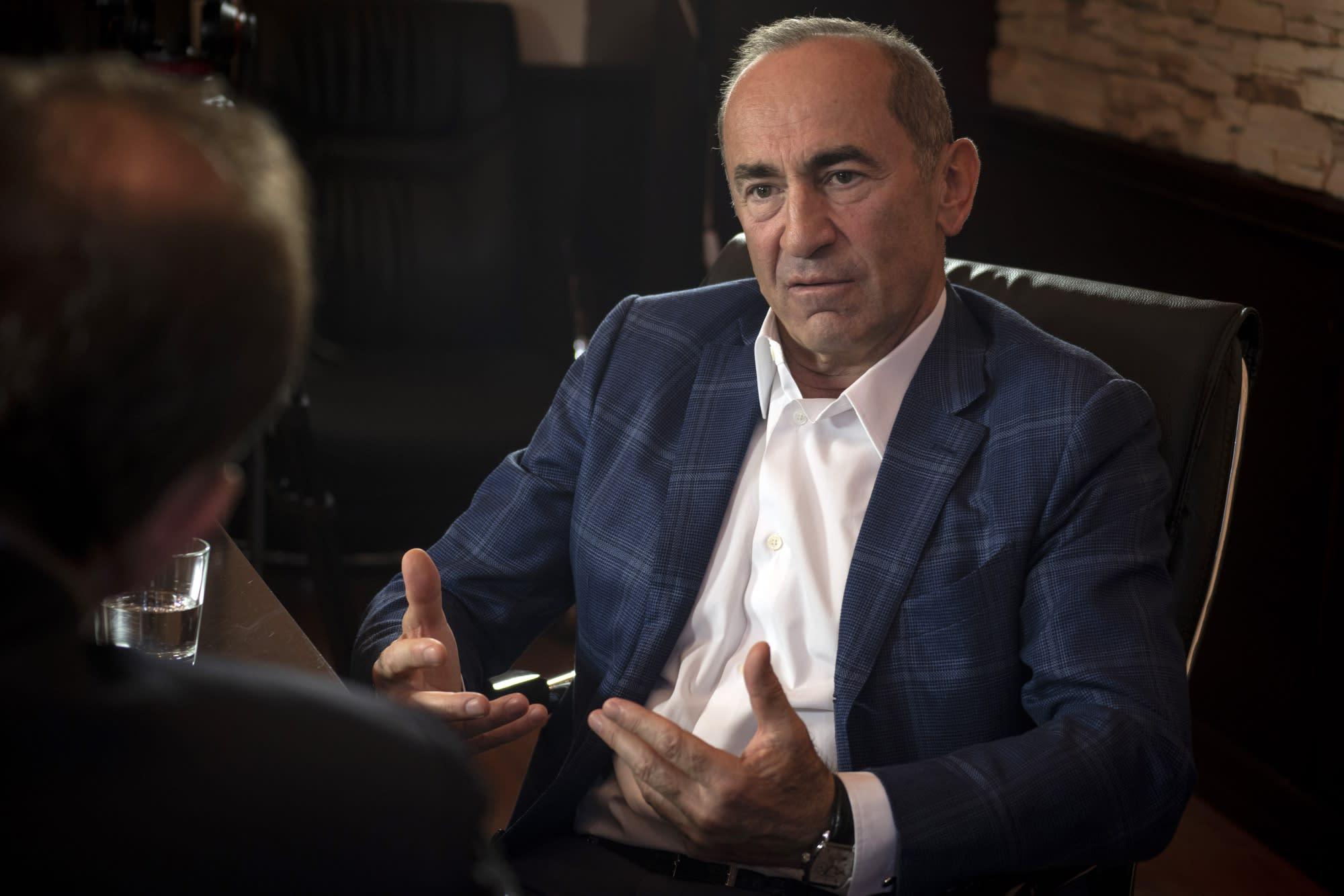 Putin Ally Leads Counter-Charge to Armenia's Velvet Revolution