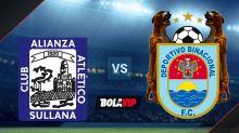 Cómo ver Alianza Atlético vs. Deportivo Binacional EN VIVO por la Liga 1