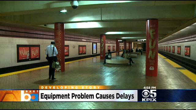 BART Equipment Failure In Transbay Tube Results In Day-Long Delays