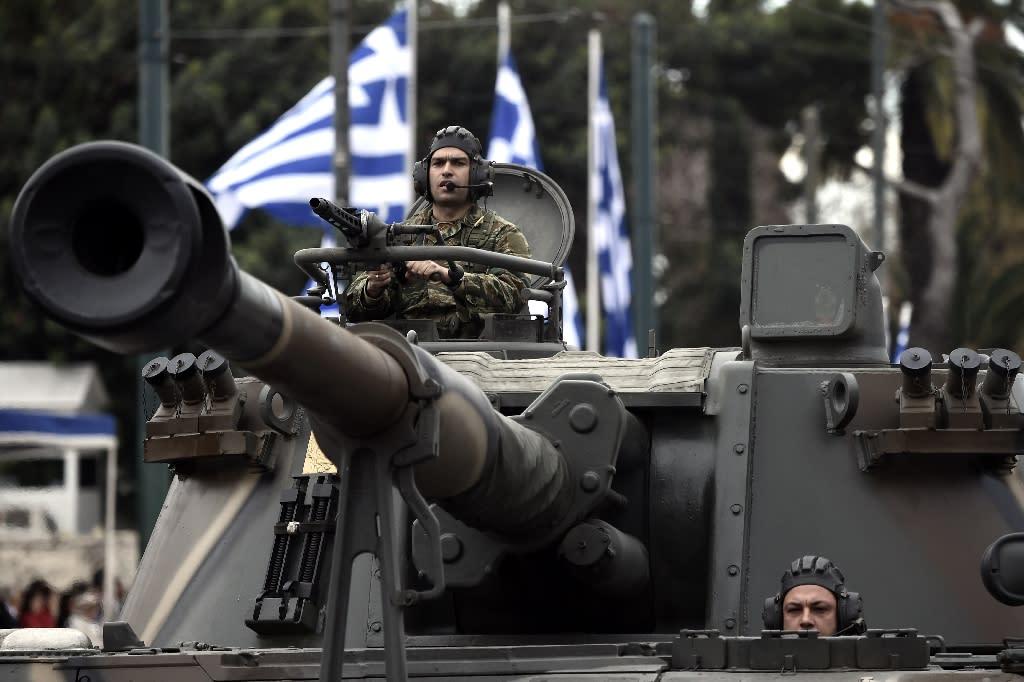 War games in Greece near Macedonia, Turkey amid migration row