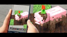 "Microsoft Brings Augmented Reality to ""Minecraft"""