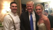 Donald Trump Crashes New Jersey Wedding