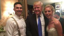 Donald Trump Crashes New Jersey Wedding